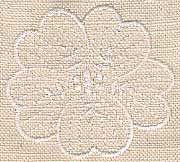 Wedding Napkin Motif 02