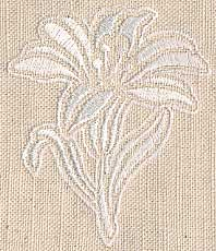 Wedding Napkin Motif 04