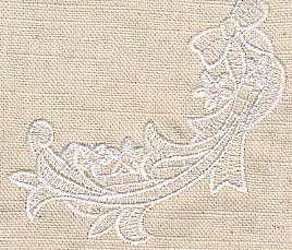 Wedding Napkin Motif 18